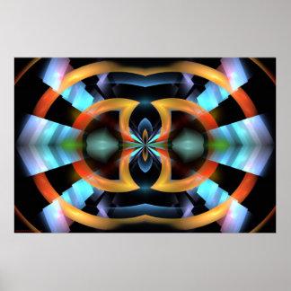 Digital-Kunst-Bestes gesehene Fahrwerk-Ansicht-Anm Poster