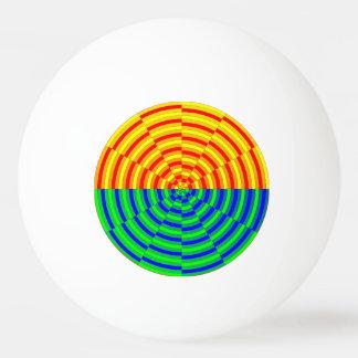 Digital-Sonnenaufgang durch Kenneth Yoncich Tischtennis Ball