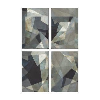 Digital-Überlagerungs-neutrale Platte #1 vier Leinwanddruck