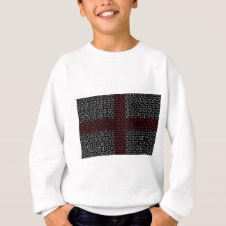 digitale Flagge (St George Kreuz) Sweatshirt