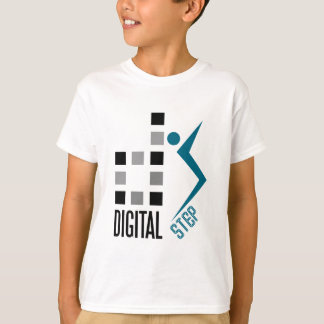 digitaler Schritt T-Shirt