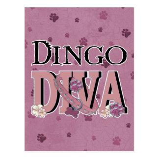 Dingo DIVA Postkarte