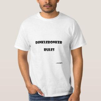 Dinklebonker Regeln T-Shirt