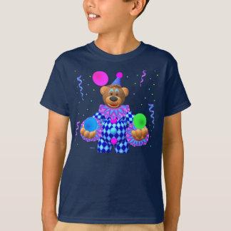 Dinky Bären, die Clown jonglieren T-Shirt