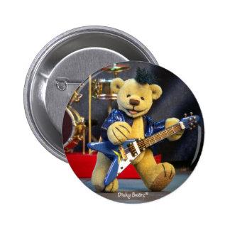 Dinky Bears: Rockstar Runder Button 5,7 Cm