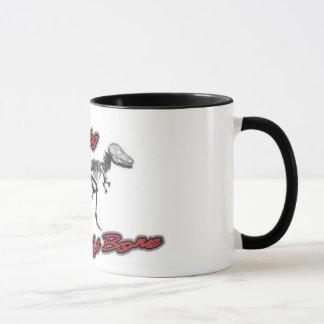 Dino-Schlechtes zur Knochen-Tasse Tasse