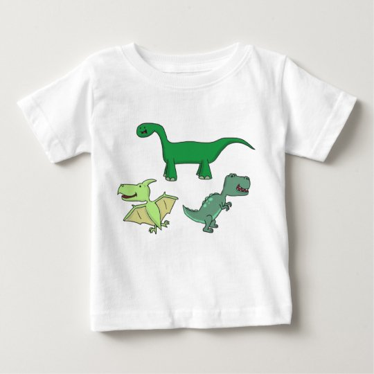 Dinosaurier Baby T-shirt