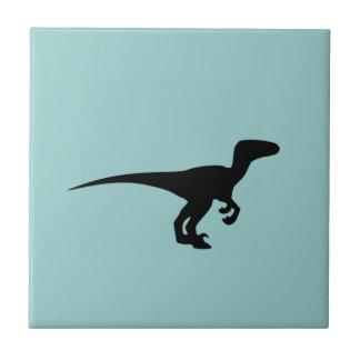 Dinosaurier-Kontur-Juraära Fliesen