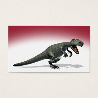 Dinosaurier-Monster Visitenkarte