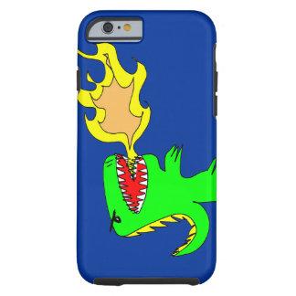 Dinosaurier-oder Drache-Kunst durch wenig t + Tough iPhone 6 Hülle
