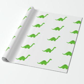 Dinosaurier-Packpapier-Geburtstag Geschenkpapier