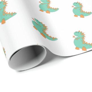 Dinosaurier-Packpapier Geschenkpapier