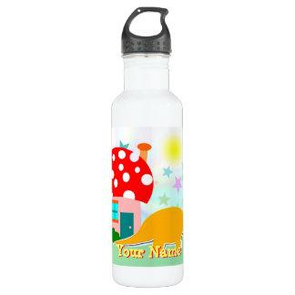 Dinosaurier-Pilz-Haus-Flasche Trinkflaschen