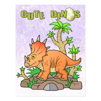 Dinosaurier Postkarte