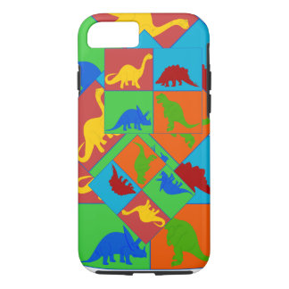 Dinosaurier spielt iphone Fall iPhone 8/7 Hülle