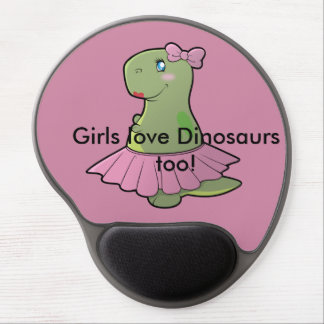 Dinosaurier T-Rex Mausunterlage Gel Mousepad