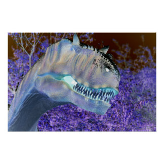 Dinosaurier T-Rex Poster