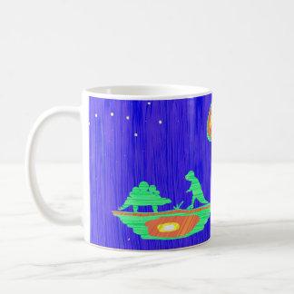 Dinosaurier und Maus Kaffeetasse