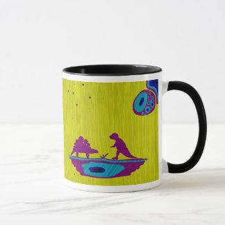 Dinosaurier und Maus Tasse
