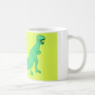 Dinosaurier- und Schneckekombination Kaffeetasse