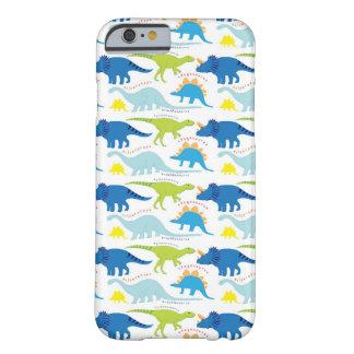 Dinosuar entwirft blaue und grüne barely there iPhone 6 hülle