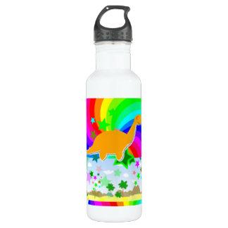 Diplodocus-Pixel-Dinosaurier Trinkflaschen