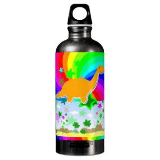 Diplodocus-Pixel-Dinosaurier Wasserflaschen