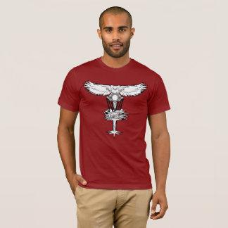 Disc-Golf-Eulen-Nest-Korb-T-Shirt T-Shirt