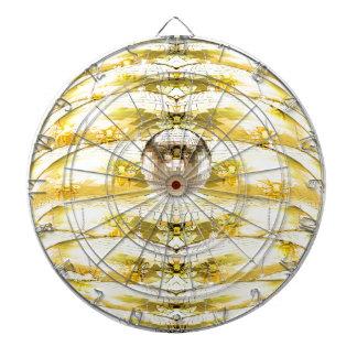 Disco-Ball-Bienen-Bienenstock-Muster Dartscheibe