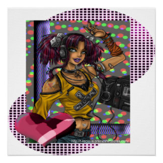 Disco - copie de toile poster