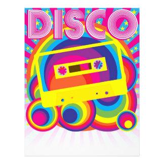 Disco-Party Personalisierte Flyer