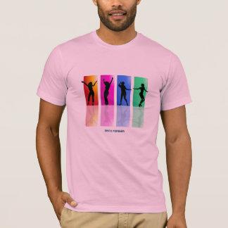 Disco-T-Stück Sammlung: Disco-Regenbogen T-Shirt