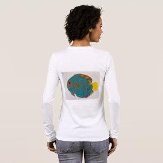 Discusfischt-shirt Langarm T-Shirt