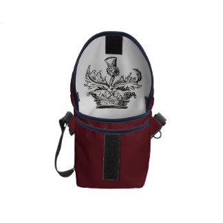 Distel-Wappenminibotetasche Kurier Taschen