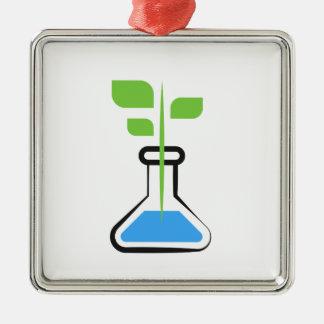 Diva der Wissenschafts-(Biologie) Silbernes Ornament