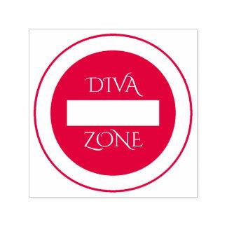 """Diva-Zonen-"" GummiBriefmarke Permastempel"