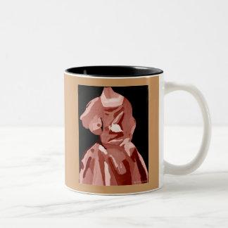 DivaFashionista in Leerlaufstellung Zweifarbige Tasse