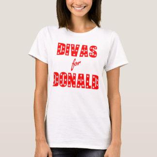 Divas für Donald- TrumpT - Shirt