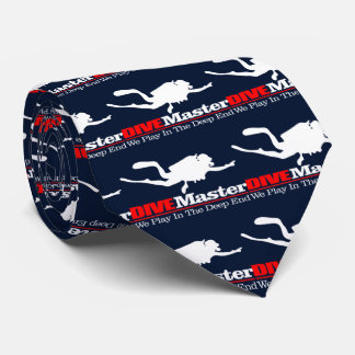 DIVEMaster Personalisierte Krawatte