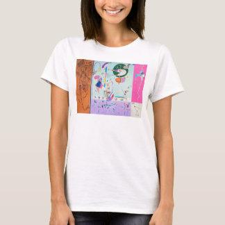 Divers T-shirt de pièces de Kandinsky