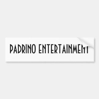 DIVERTISSEMENT DE PADRINO AUTOCOLLANT DE VOITURE
