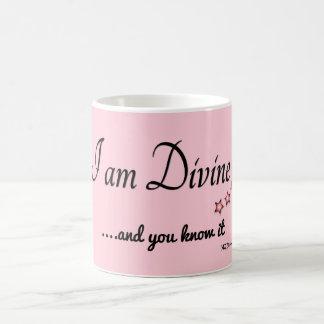 Divine zerteilt kaffeetasse