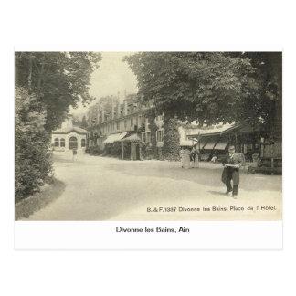 Divonne les Bains, Ain, Frankreich Postkarte