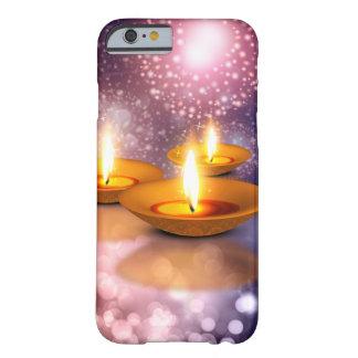 Diwali Lampenöle auf glühendem Barely There iPhone 6 Hülle