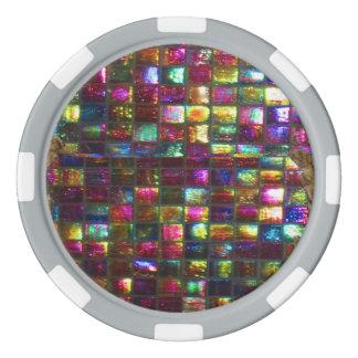 DIY 256 Rand-Farbwahlen Hintergrundes n Drop-Down Pokerchips