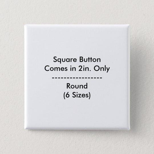 DIY quadratischer Knopf Quadratischer Button 5,1 Cm