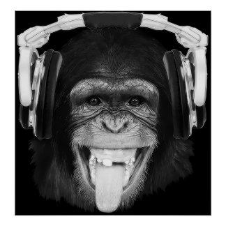 DJ-Affe Poster