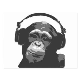 DJ-AFFE POSTKARTEN