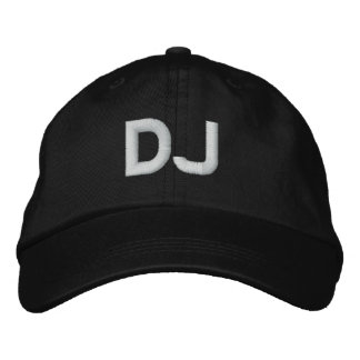 DJ BESTICKTE BASEBALLKAPPE
