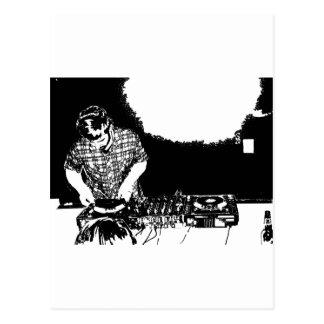 DJ Carson Postkarte